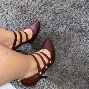Vince Camuto yamily shoes chestnut brown
